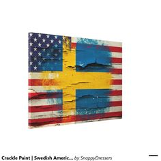 swedish and american flag