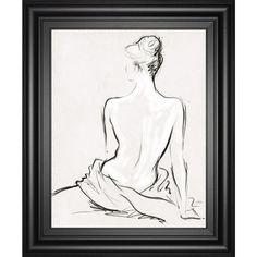 """22 in. x 26 in. """"Celestiel II"""" by Jane Hartley Framed Printed Wall Art"""