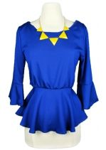Love the Royal Blue and Bright Yellow