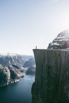 ivvvoo: Preikestolen - Pulpit Rock, Norway