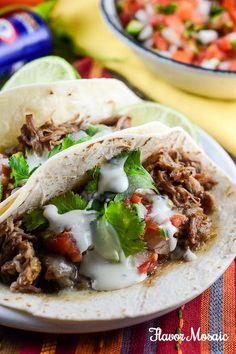 Zesty Ranch Slow Cooker Carnitas – A Simple Budget Friendly Meal - #RollIntoSavings #shop #cbias @walmart @kraftrecipes