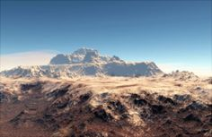 Causian Alps on Planet Erudo by MarjanMencin