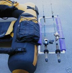 calfishing.com - Viewing topic #1950 - Float tube rod holder