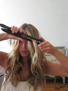 A Fashion Love Affair - Posts - Wavy Hair Tutorial with Hana Flat Iron