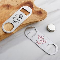 Personalized Wedding Silver Oblong Bottle Opener - - Kate Aspen's Personalized Silver Oblong Bottle Opener practical novelty wedding favor uses a Wedding design to show your custom name and wedding event details! Creative Wedding Favors, Inexpensive Wedding Favors, Elegant Wedding Favors, Wedding Gifts For Guests, Personalized Wedding Favors, Wedding Favors For Guests, Unique Weddings, Diy Wedding, Wedding Ideas