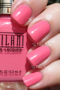 Popping Pink is a bright pink creme.