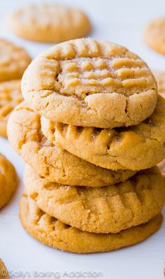 This is my favorite recipe for Classic Peanut Butter Cookies. Easy to make, easier to eat!