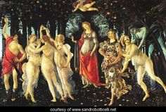 Allegory Of Spring   La Primavera - Sandro Botticelli (Alessandro Filipepi) - www.sandrobotticelli.net