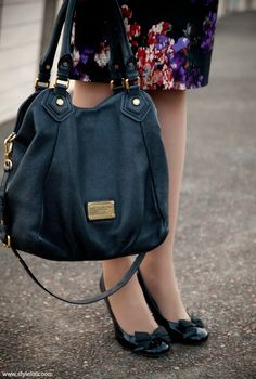 Style Sessions: Fashion Link Up - Desk To Dinner Date $448 Marc Jacobs Purse