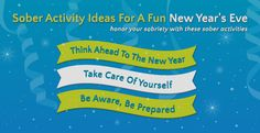 Sober Activity Ideas For A Fun New Year's Eve  http://www.alcoholtreatment.net/sober-activity-ideas-for-a-fun-new-years-eve/