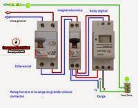 Esquemas eléctricos: esquema electrico reloj horario digital