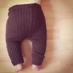 Garnkusserne | Lækre hækleopskrifter / DIY til dig, hjemmet og baby |: Opskrift på hæklede babygamacher i bomuldsrib (DIY)
