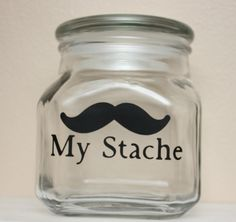 """I love this. Screw the baby's first piggy bank. My kids getting """"my stache""""!!!"""