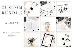 Custom Bundle   Andrea by Floral Deco on @creativemarket