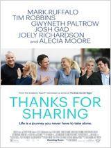 Thanks for Sharing avec Mark Ruffalo, Tim Robbins, Gwyneth Paltrow - sortie 2015