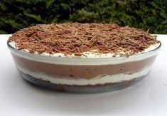 Csiperke blogja: Csokoládé lasagna Diy Food, Tiramisu, Goodies, Baking, Ethnic Recipes, Lasagna, Sweet Like Candy, Bread Making, Treats