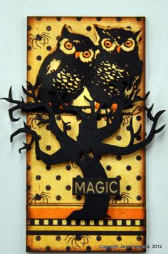 8/22/2012; Jane Tregenza at 'Paper Crafter's Library' blog