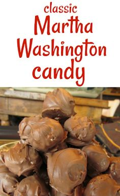 Martha Washington Candy is a classic candy made with chocolate, coconut, and pecans. I simplify the recipe without losing any of that classic taste! Martha Washington Candy ~ My Childhood Christmas Memories Christmas Sweets, Christmas Baking, Christmas Crack, Homemade Christmas Candy, Christmas Goodies, Christmas Holiday, Martha Washington Candy, Fudge Recipes, Dessert Recipes