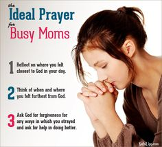 Busy Moms Prayer Guide