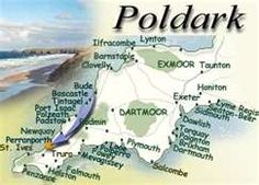 Poldark geography of Cornwall