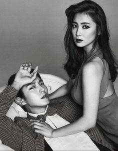 Lee Joon Ki and Nam Sang Mi look stunning in July's 'Harper's Bazaar'