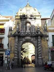 Fachada de la iglesia de San Pablo. Córdoba.