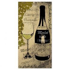 Olive Wine 10x20 - Canvas Wall Art - Events