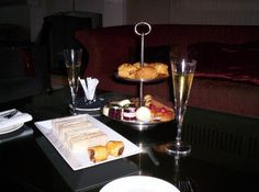 afternoon tea - Review of Seaham Hall, Seaham -