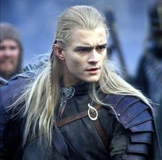 Legolas - The Lord of the Rings movies (Orlando Bloom)