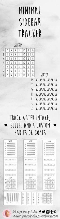#free #freeprintable #minimal #sidebar #tracker #goals #progress #habits #habittracking #goaltracking #planner #plannerobsessed #plannerlife #planneraddict #plannerlove #plannernerd #plannergirl #plannercommunity #erincondren #eclp #plannersenespañol #meandmybigideas #mambi #recollections #organizedpotato #planwithpotato
