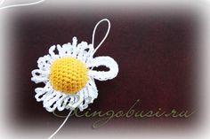 margarita ganchillo flor