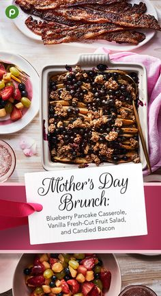 This Mother's Day, treat the moms in your life to a delightful brunch with all their favorites. Recipes from Publix make it easy. Children of all ages can help with our three-course Sunday Morning Brunch, which may be prepped and cooked in just an hour. Brian May, Cooking Courses, Cooking Recipes, Cooking Corn, Cooking Steak, Brunch Recipes, Breakfast Recipes, Publix Recipes, Brunch Ideas