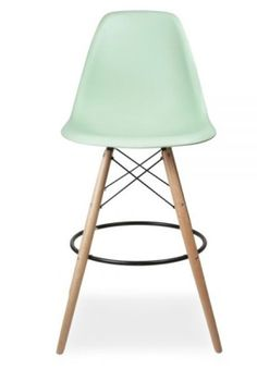 Eames DSW High Stol Peppermint Seat