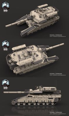 Sci Fi Weapons, Weapon Concept Art, Future Tanks, Tnt Minecraft, Modern Tech, Army Vehicles, Battle Tank, Art Station, Military Weapons