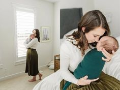At-Home Newborn Session Family Picture Outfits, Newborn Session, Newborn Photographer, Family Pictures, Baby, Beautiful, Home, Fashion, Moda