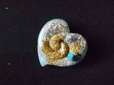 Orgonite Blue Heart Orgone Butterfly