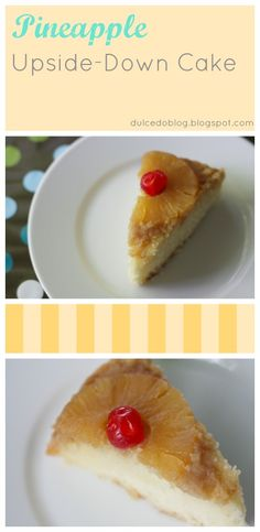 Pineapple Upside-Down Cake - Dulcedo