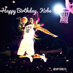 save off 26e0f d2751 Happy 36th Birthday, Mr. Kobe Bryant. 8 23 14. VIP Tickets