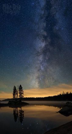 Milky Way Reflection.