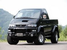 Pick-Up (Richie_Jeep) Tags: up pick mitsubishi delica l400
