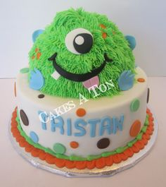 Celebrate your little monster This World Class Patisserie Cake is