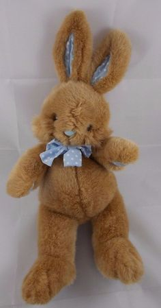 "Applause Fluffy Bunny Tan Rabbit #53080 12"" #Applause"