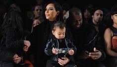 Kim Kardashian And Kanye West 'Adorable' Shushing Paparazzi For North West's Nap [Photos]