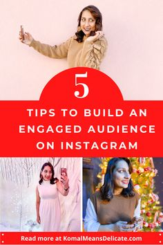 logging tips, building an engaged audience, Instagram engagement #BloggingTips #InstagramEngagement #InstagramHashtags