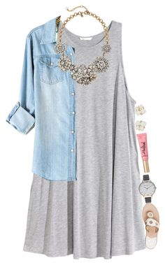 Laid back! Grey dress and sandals Cute Fashion, Look Fashion, Fashion Outfits, Womens Fashion, 90s Fashion, Korean Fashion, Classy Outfits, Casual Outfits, Cute Outfits