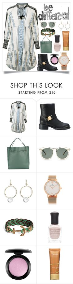"""Be different"" by camry-brynn ❤ liked on Polyvore featuring Sea, New York, Giuseppe Zanotti, Jil Sander, Karen Walker, Kapten & Son, Brooks Brothers, Deborah Lippmann, MAC Cosmetics and Jane Iredale"