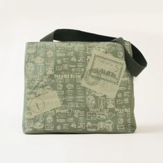 World Tour Passport Stamps Travel Canvas Tote Bag - diy cyo customize create your own personalize