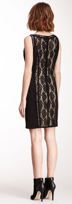 Lace Center Dress