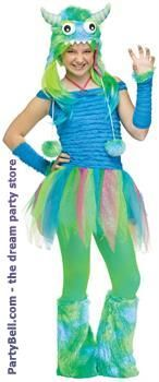 Blue Beasty Teen Costume