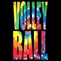 Volleyball Tie Dye